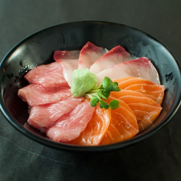 Sashimi japonés (Creative commons)