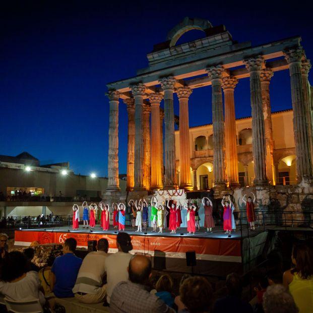 Teatro al aire libre: Teatro Clásico de Mérida