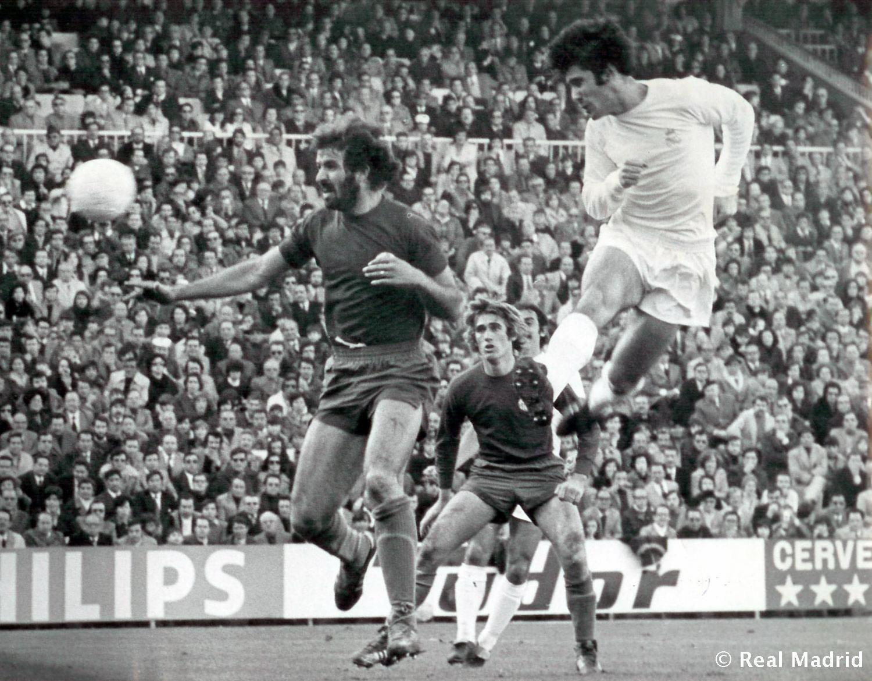 goleadores históricos del real madrid