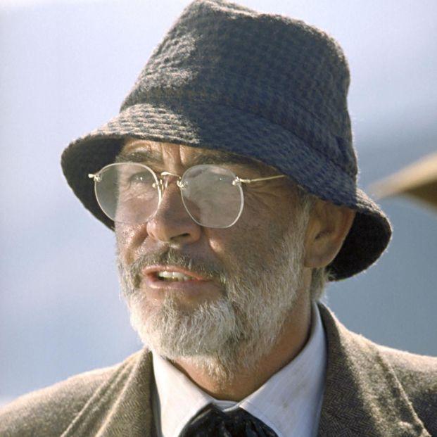 Sean Connery en Indiana Jones y la última cruzada