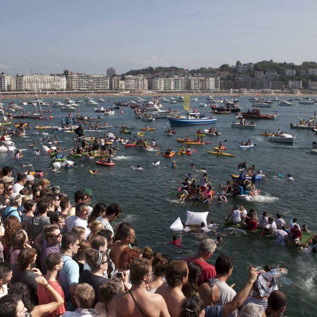 Abordaje Pirata en la Semana Grande de San Sebastián
