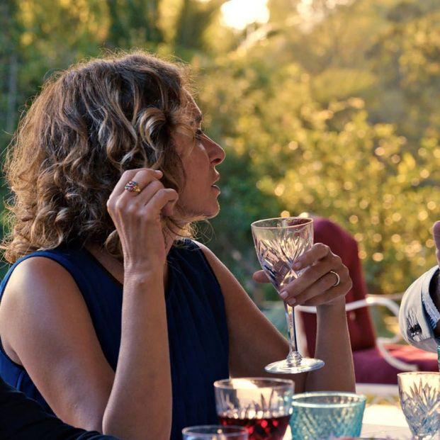 Valeria Golino y Pierre Arditi en La casa de verano