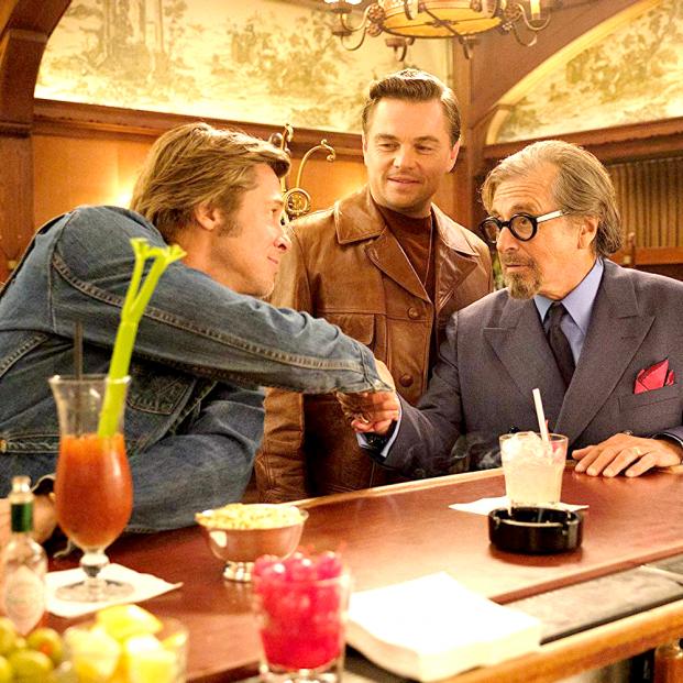 Pitt, DiCaprio y Pacino en Érase una vez en... Hollywood