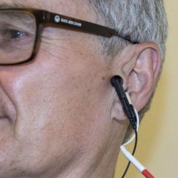 Terapia cosquillas oído