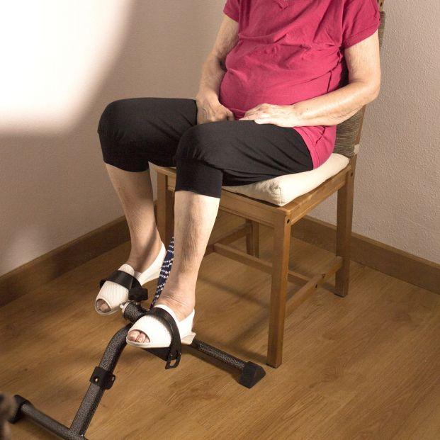 Pedales estáticos para personas mayores