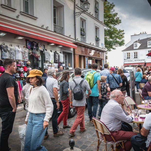 Place du Tertre, Montmartre, Francia