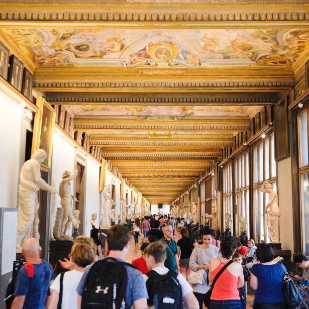 Uffizi, Florencia, Italia