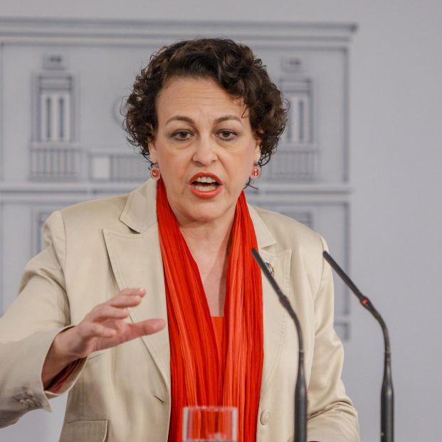 Magdalena Valerio, ministra de Trabajo en funciones.