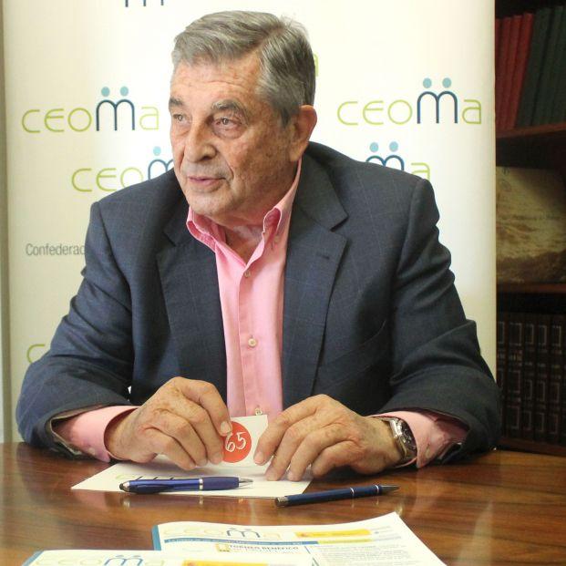 Juan Manuel Martínez Gómez, Presidente de CEOMA. Los mayores ven necesario abrir las aulas