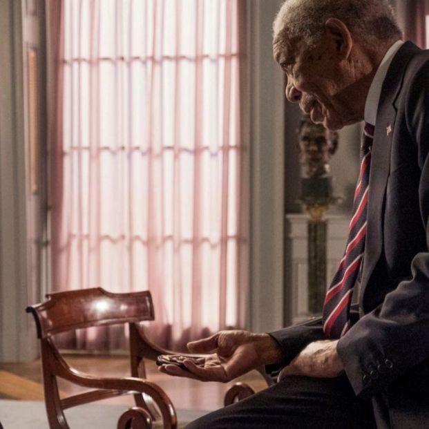 Butler y Freeman en 'Objetivo Washington DC'