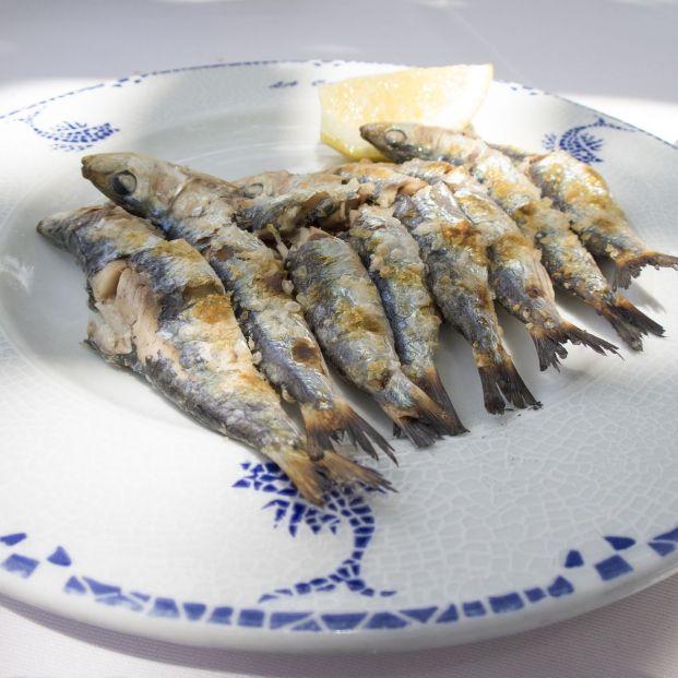 Espetos, una de las frituras más populares de Málaga