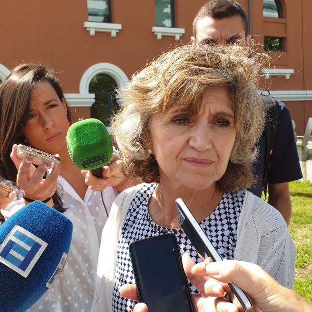 La ministra de Sanidad en funciones María Luisa Carcedo