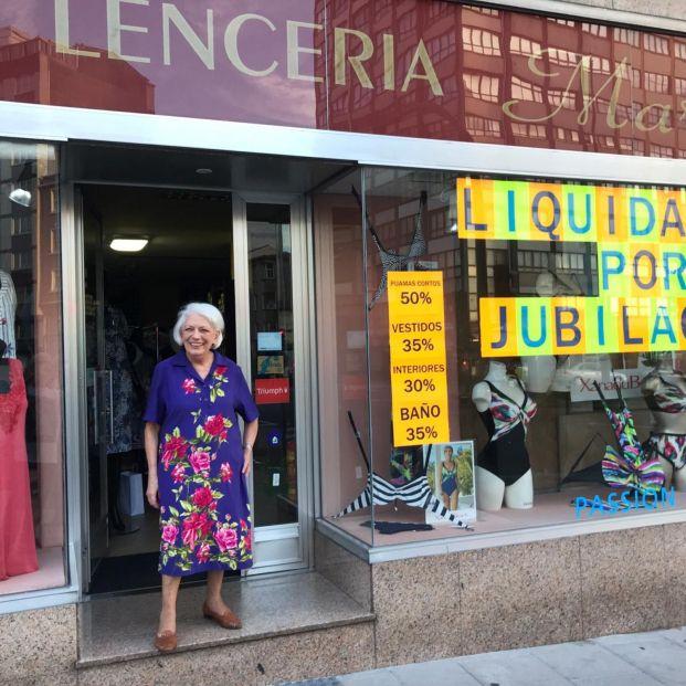 Dolores Agra, la mujer con más años cotizados de España se jubila