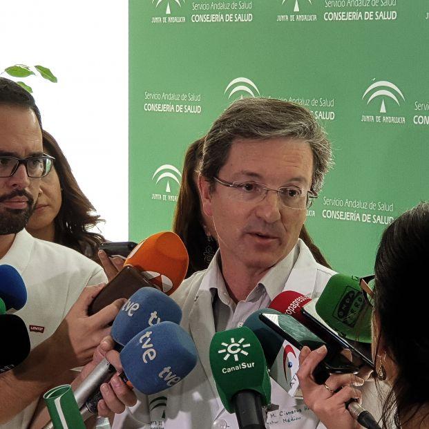 EuropaPress 2327895 El portavoz para el brote de listeriosis por carne mechada José Miguel Cisneros