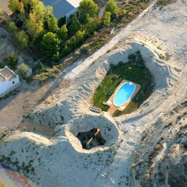 Dormir en un hotel o casa cueva en España