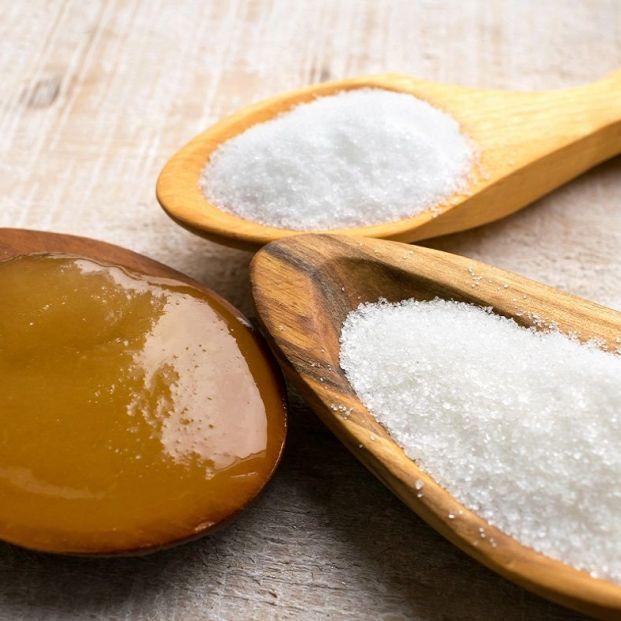 Jarabe de maíz, dextrosa, melaza...todo es azúcar