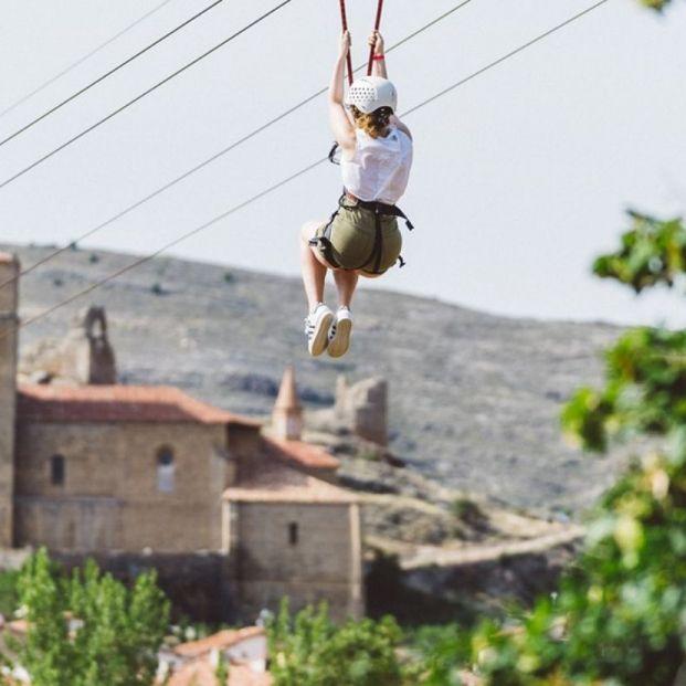 Disfruta con tus nietos de un divertido día en el parque del Barranco Perdido (La Rioja)