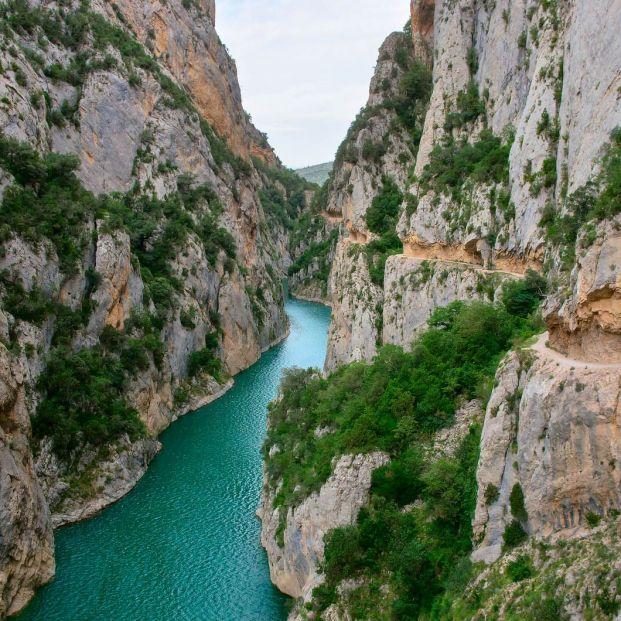 De ruta por el Congost de Mont Rebei, un espectacular desfiladero entre Huesca y Lérida