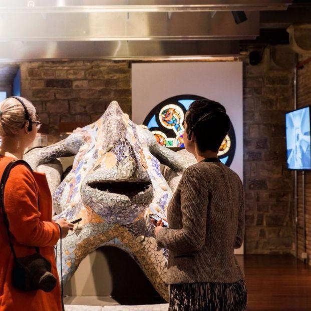 'Paseando con Gaudí': un recorrido tecnológico por la obra