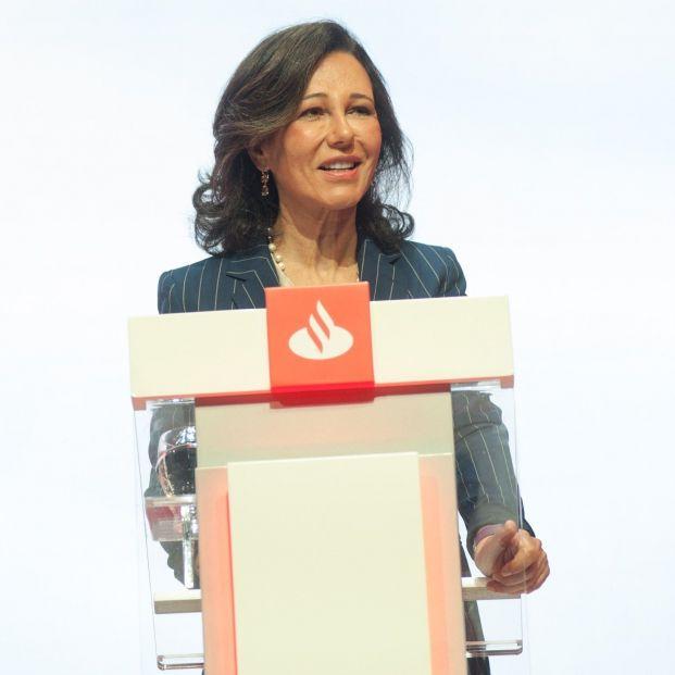 Ana Botín, presidenta del Santander. El banco tiene un 33% de consejeras
