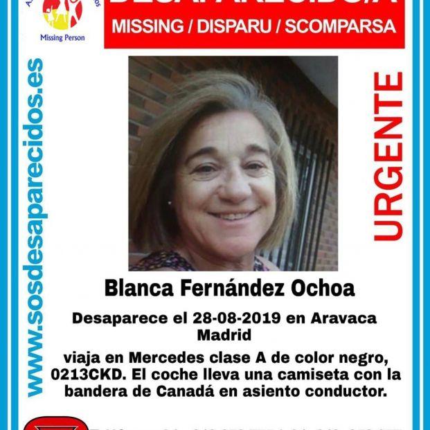 Blanca Fernandez Ochoa desaparecida