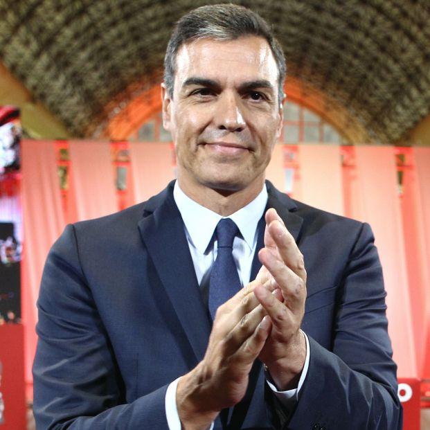 EuropaPress 2351529 El presidente del Gobierno en funciones Pedro Sánchez durante el acto de presentación de la propuesta abierta de 'Programa común progresista'
