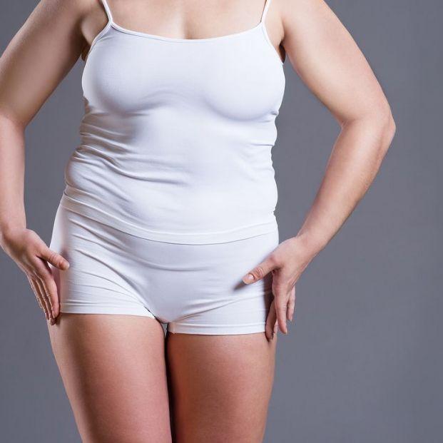 báscula de bioimpedancia para conocer la proporción de músculo y grasa