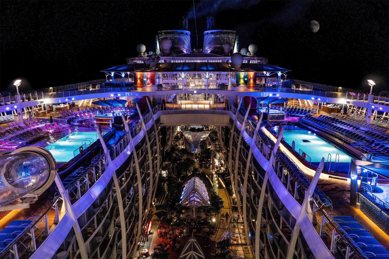 Cuáles son los cruceros de pasajeros más grandes del mundo?