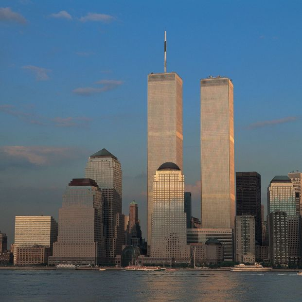 Torres Gemelas de Nueva York antes de los atentados del 11S