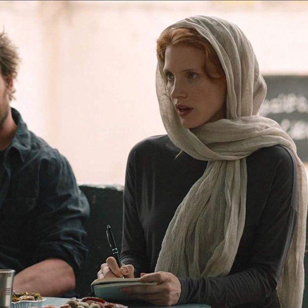 Jessica Chastain en Zero Dark Thirty, una de las películas surgidas a raiz de la tragedia del 11S