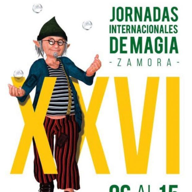 Cartel de las Jornadas Internacionales de Magia de Zamora