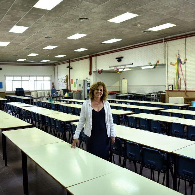 EuropaPress 2355908 Retrato de María Isabel Jiménez directora del Colegio de Educación Infantil y Primaria 'Joaquín Costa' tras una entrevista para Europa Press  (1)