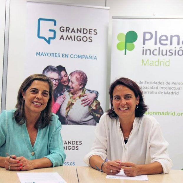 Plena Inclusión Madrid y Grandes Amigos se unen contra la soledad no deseada