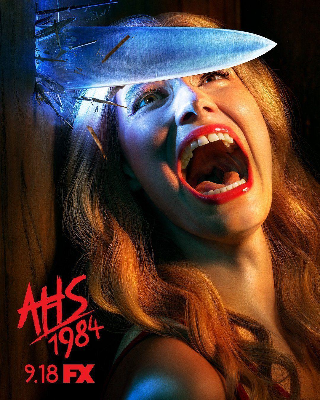 Cartel de AHS:1984