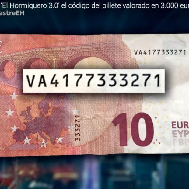 Billete de 10 euros que vale 6.000