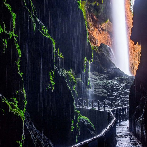 Saltos de agua más espectaculares españa (Bigstock)
