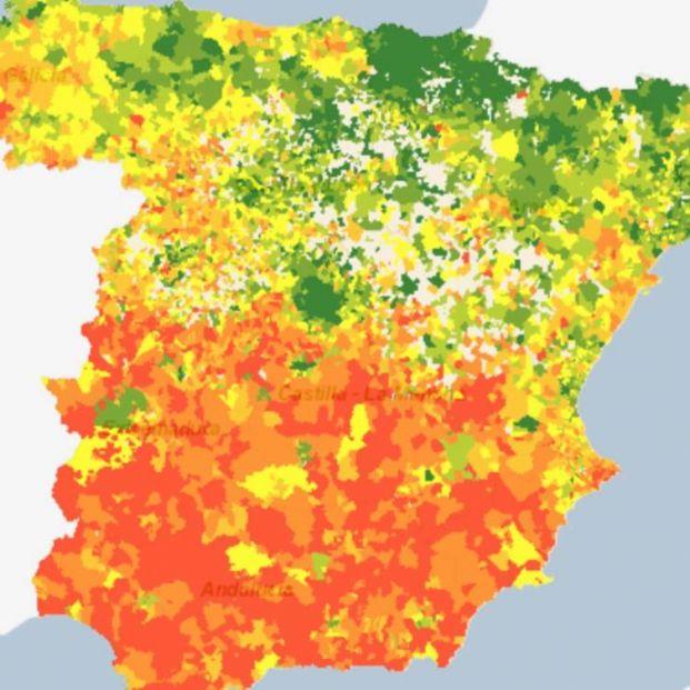 Mapa INE