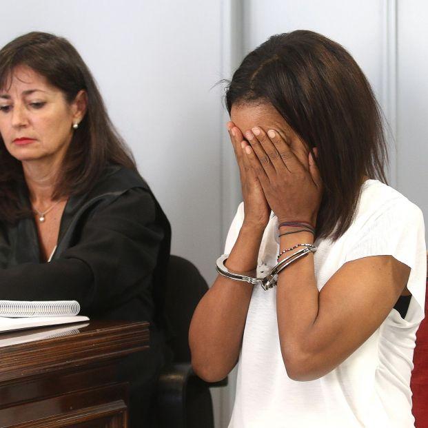 EuropaPress 2362030 La autora confesa de la muerte del niño Gabriel Cruz Ana Julia Quezada  en la sala de audiencia donde se celebra el juicio por el crimen del niño Gabriel Cruz
