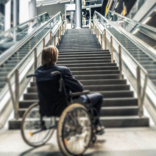 Barreras arquitectónicas para discapacitados