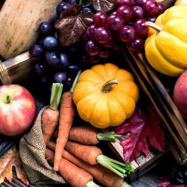 ¿Qué frutas y verduras están óptimas para comer en otoño?