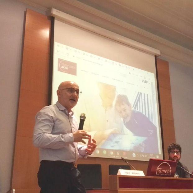 Toni Andreu, director d'Estratègia d'ACRA, presenta el portal del Observatorio