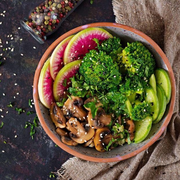 Qué es la dieta raw food (Bigstock)