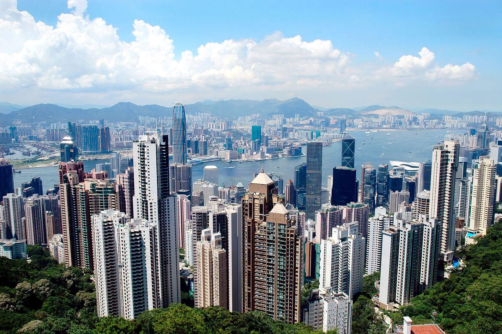 Resultado de imagen para hong kong sector financiero