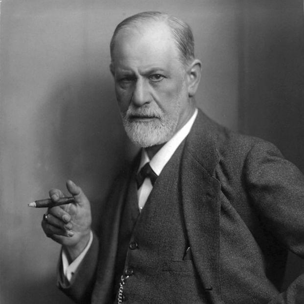 Sigmund Freud, fotografiado por Max Halberstadt