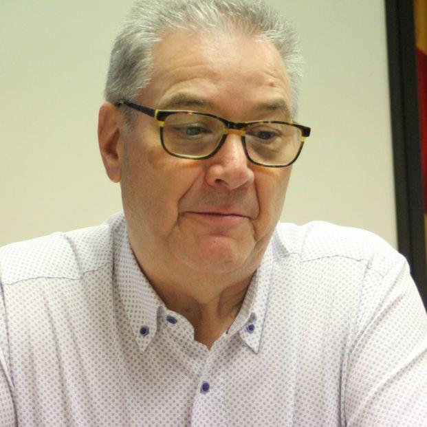 Anatolio Díaz, secretario general de UGT-UJP