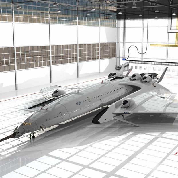 De Londres a Nueva York en dos horas: así es el avión supersónico español que sueña con lograrlo