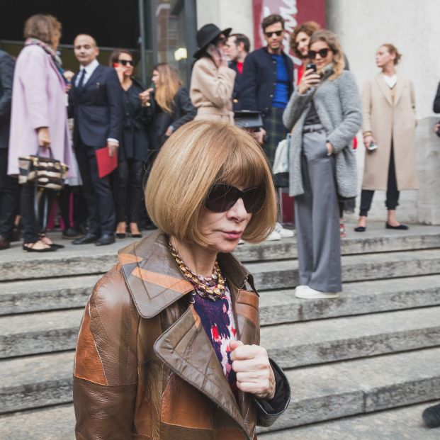 Anna Wintour, dominando la moda con 69 años (Big stock)