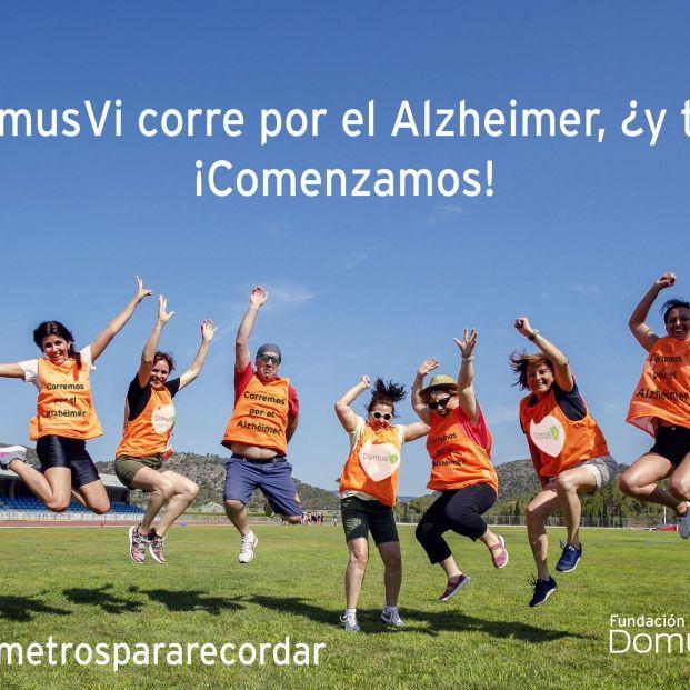 Súmate al reto 'Kilómetros para recordar' y ayuda a combatir el alzhéimer