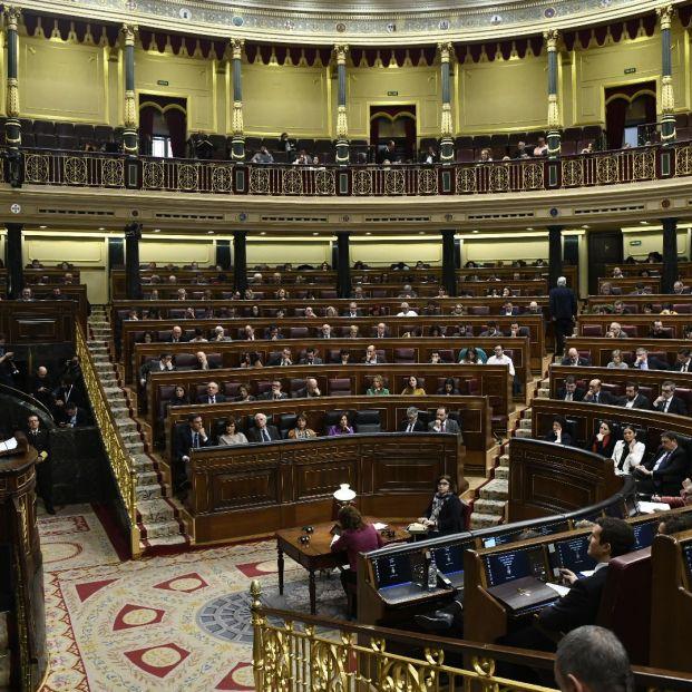 Pleno sobre los Presupuestos Generales del Estado en el Congreso de los Diputados. Plazos para formar Gobierno (Óscar del Pozo, Europa Press)