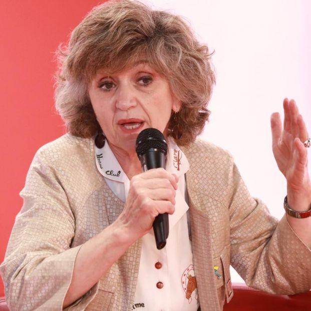 La ministra María Luisa Carcedo